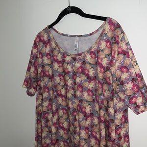 LULAROE - Floral Classic T